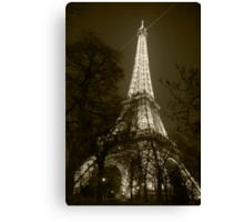 Eiffel Tower 3 Canvas Print