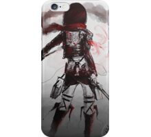Mikasa Art Hard Pen iPhone Case/Skin