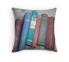 Klassik tales and True 2 life 4 1 Book o' Books Throw Pillow