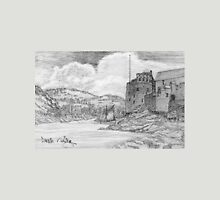 My pencil drawing of Dartmouth and Kingswear Castles, Devon Unisex T-Shirt