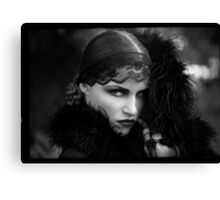 Muse.....Film Noir Canvas Print