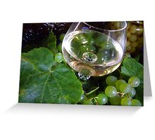"""""""From the Grape . . ."""" 7 Greeting Card"""