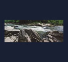 HDR Composite - River Rapids Kids Tee