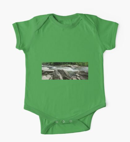 HDR Composite - River Rapids One Piece - Short Sleeve