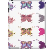 Colored butterflies 4 iPad Case/Skin