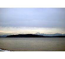 View from Alki Photographic Print