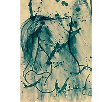 Splash Of Ink Photographic Print