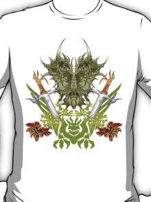 Twin Dragon Blades  T-Shirt