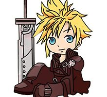 Cloud Strife by eucliffe