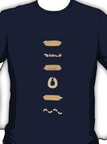 Sausage Dog Dishes T-Shirt