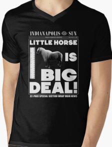 Little horse is big deal. (black) T-Shirt