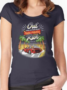 Racing Adventure  Women's Fitted Scoop T-Shirt