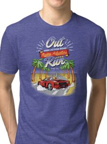 Racing Adventure  Tri-blend T-Shirt
