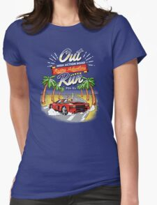Racing Adventure  Womens Fitted T-Shirt