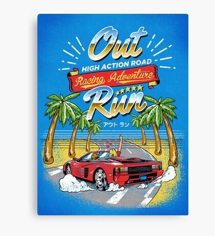 Racing Adventure  Canvas Print