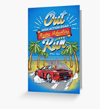 Racing Adventure  Greeting Card