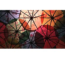 The Dance of The Parasols Photographic Print