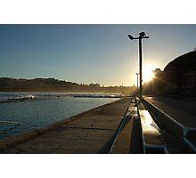 Sunset on Freshwater Pool Photographic Print