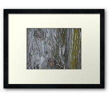 Green & Gray Framed Print