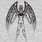 Tribal Winged Man by Dalton Sayre