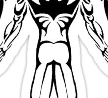Tribal Winged Man Sticker