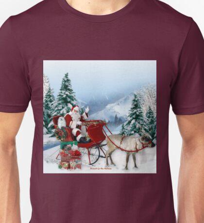 Snowdrop the Maltese & The Sleigh Ride ! Unisex T-Shirt