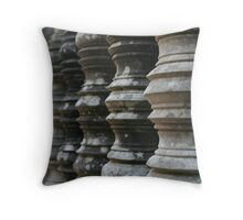 Columns at Ankor Wat, Cambodia Throw Pillow