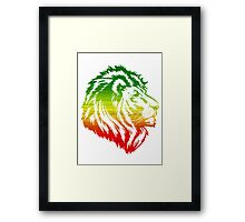 King of the Pride RASTA Framed Print