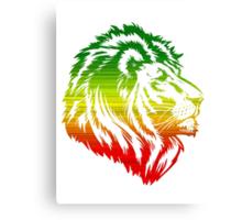 King of the Pride RASTA Canvas Print