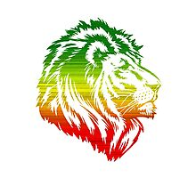King of the Pride RASTA Photographic Print