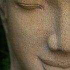 Buddha at Royal Palace, Cambodia by Leigh Penfold