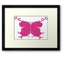 Abstract Fantasy Butterfly 4 Framed Print