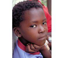 young girl Ginak Island Photographic Print