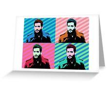 Jake Gyllenhaal Pop Art Greeting Card