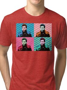 Jake Gyllenhaal Pop Art Tri-blend T-Shirt