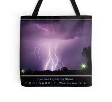 Summer Lightning Storm Tote Bag