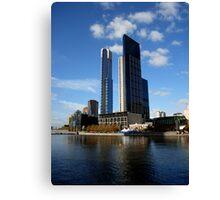 Melbourne River View Canvas Print