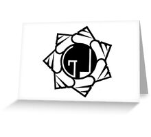 Ground Level Logo (Slide) Greeting Card