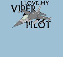 I Love My Viper Pilot Womens Fitted T-Shirt