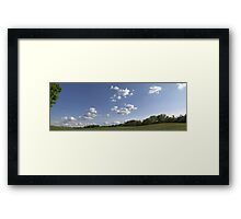 HDR Composite - Sheep Field at Working Farm Framed Print