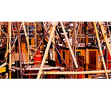 A Complexity of Masts Photographic Print