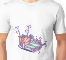 Abstract Fantasy Butterfly 7 Unisex T-Shirt