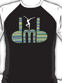 DMB Firedancer Aztec with black background T-Shirt