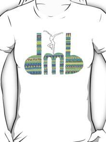DMB Firedancer Aztec with black background T-Shirt