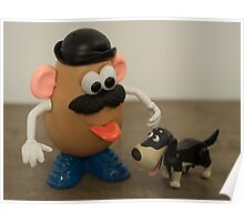 Mr Potato Head and his doggy  Poster