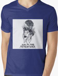 blow my mind motherfucker Mens V-Neck T-Shirt