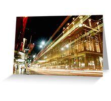 QVB At George Street Sydney Greeting Card