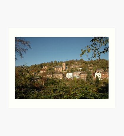 Ironbridge Village Art Print