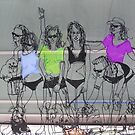 Babes On The Boardwalk by judygal
