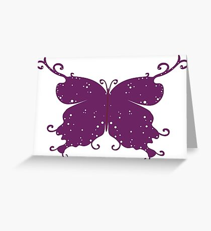Abstract Fantasy Butterfly 10 Greeting Card